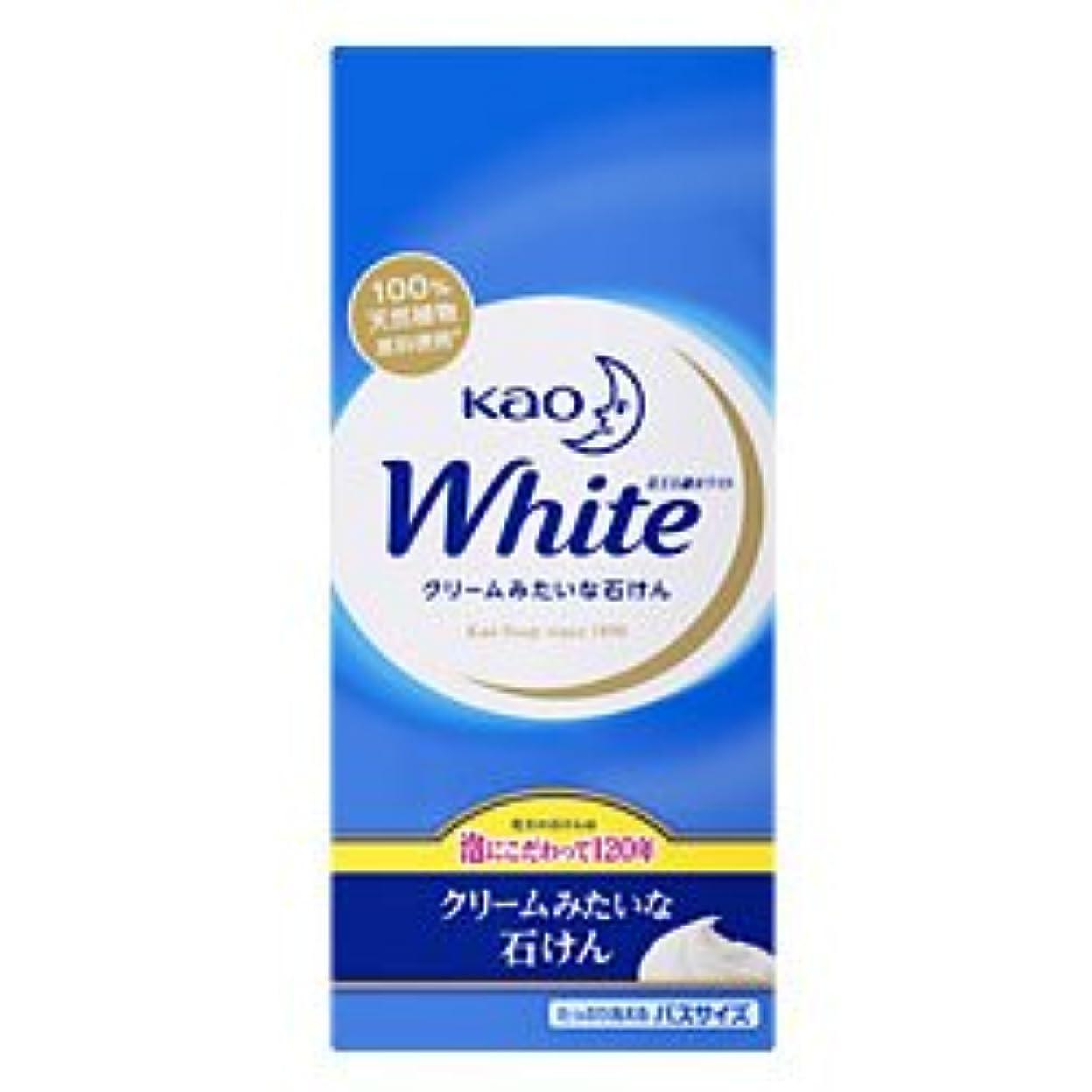 変換制限された擬人化【花王】花王ホワイト バスサイズ 130g×6個 ×20個セット