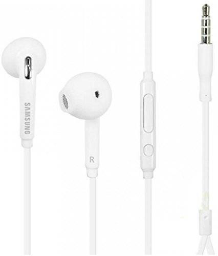 Price comparison product image Samsung EO-EG920LW Wired 3.5mm Headset with Microphone (In Jewel Case)