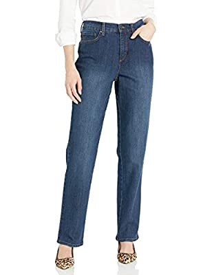 Gloria Vanderbilt womens Amanda Classic High Rise Tapered Jean, Scottsdale Wash, 8 Short