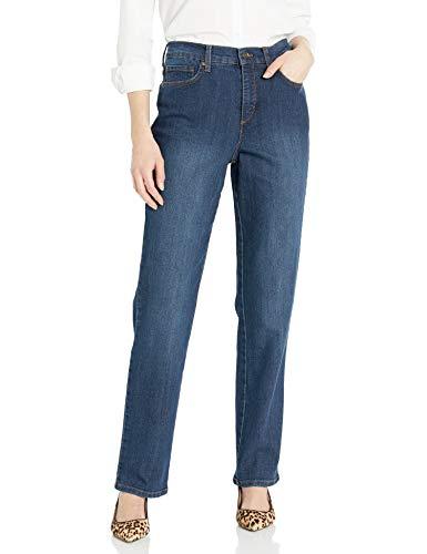 Gloria Vanderbilt womens Amanda Classic High Rise Tapered Jean, Scottsdale Wash, 6 Short