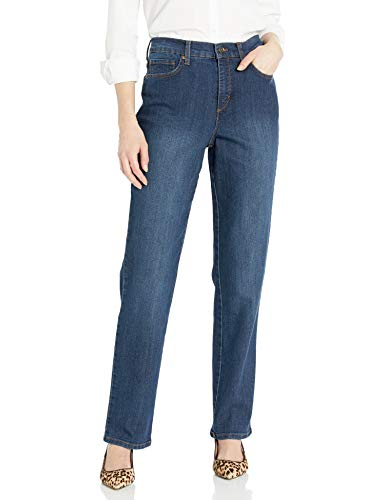 Gloria Vanderbilt Women's Classic Amanda High Rise Tapered Jean, Scottsdale Wash, 8 Short