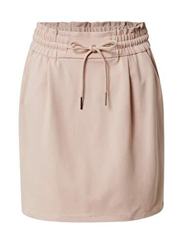 VERO MODA Damen Vmeva Mr Short Ruffle Skirt Color Rock, Rosa (Sepia Rose), L