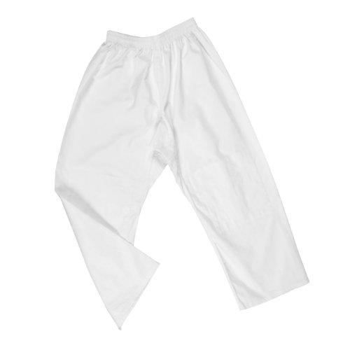 DEPICE - Pantaloni da Judo, Colore Bianco, Bianco (Bianco), 160 cm