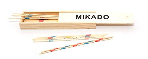 JeuJura jeujuraj64223 Mikado spel in houten geval