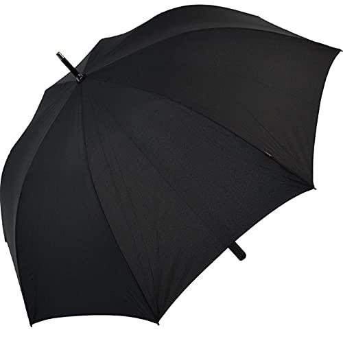 Knirps Stockschirm Long AC Golf black Herren Regenschirm