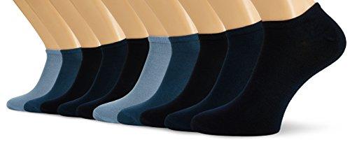 S.Oliver Socks S24008 - Calcetines Cortos Para Hombre, Color Azul (Navy 4), Talla De Fabricnate 43/46