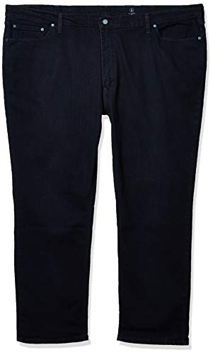 Levi's Men's Big and Tall 541 Athletic Fit Jean, Cholla Black Overdye - All Seasons Tech, 44W x 32L