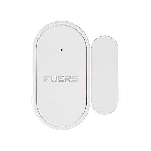 FUERS Alarma de puerta, sensor de puerta de para la seguridad del hogar y de los niños, alarma de puerta de ventana antirrobo inalámbrica para el hogar/piscina/garaje/apartamento