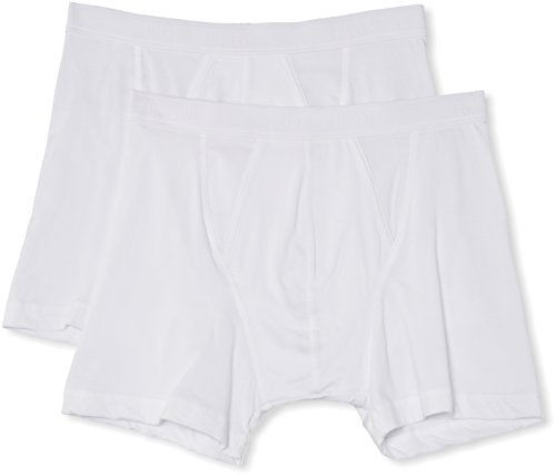 Fruit of the Loom Classic Boxer 2 Pack, Blanco, XXL para Hom