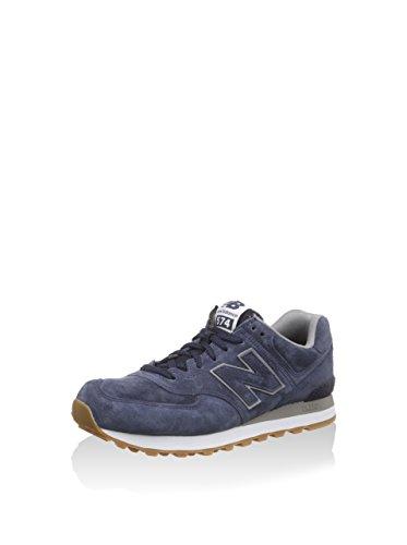 New Balance New Balance Ml574 - Zapatillas de gimnasia para hombre, Azul Marino, EU 42 (US 8.5)