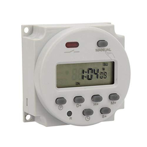 Dispositivo de control electrónico Fuerte capacidad antiinterferente Interruptor programable Ampliamente utilizado Larga vida útil Rendimiento estable Luces de(12VDC)