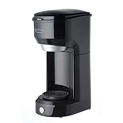Betty Crocker WACBC3800CB Single-Serve Pod Coffee Maker, One Size, Black