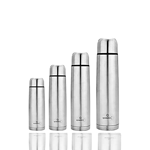 Speedex Stainless Steel Thermosteel Vacuum Insulated Flask 24 Hours Hot and Cold Water Bottle(750ml, Silver)