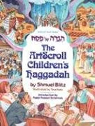 photograph about Printable Haggadahs called The Artscroll Childrens Haggadah (ArtScroll Youth): Shmuel