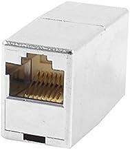 DealMux 8P8C 8 Pin RJ45 Soquete Connetor Adapter voor Zilver Netwerk Kabel Tone