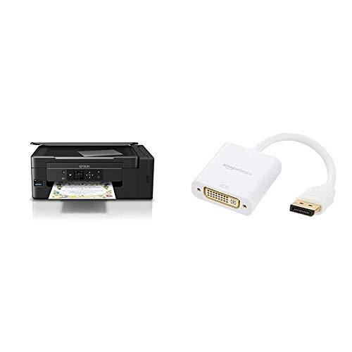 Epson EcoTank ET-2650 nachfüllbares 3-in-1 Tintenstrahl Multifunktionsgerät (Kopierer, Scanner, Drucker, DIN A4, WiFi,...