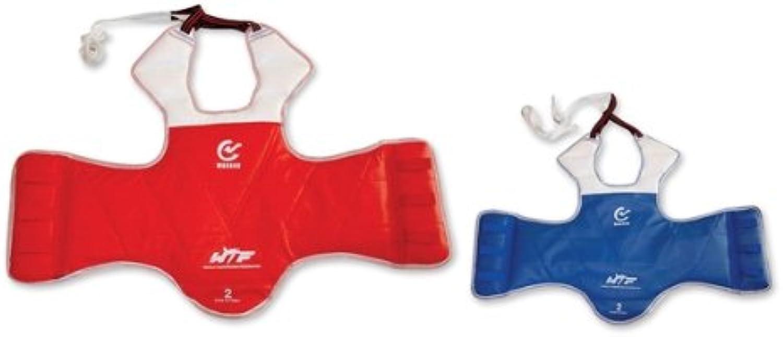 M.A.R International Brustschutzgürtel, doppelseitig doppelseitig doppelseitig nutzbar, von der 'Wtf Taekwondo World Federation' erprobtes Zubehör B00EUWFS74  Verpackungsvielfalt c1539a
