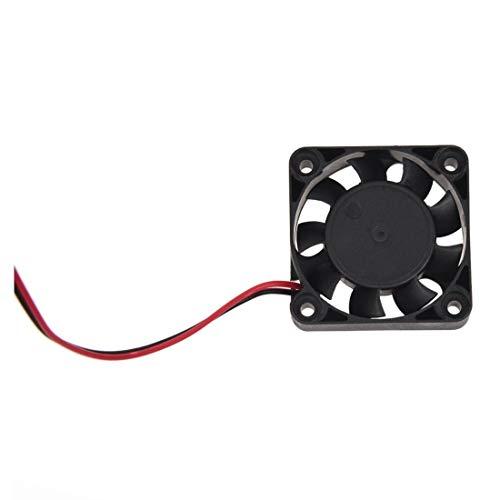 Radiador del ventilador 40mm 4 cm 2 Pin 9 Cuchilla conjunto de chips de ordenador ventilador de refrigeración DC 24V
