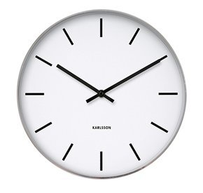 Present Time Karlsson Oversized Modern Wall Clock - Unique &...