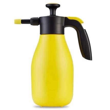 SYXZ Pulverizador de jardín portátil para Productos químicos de Agua y pesticidas,Amarillo,1.5L