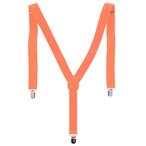 ZAC Alter Ego Bretelles ajustables unisexes Uni Largeur 25 mm - orange -