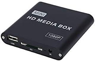 1080P Vidéo Disque Dur Lecteur Multimédia U Disque HDMI Haute Définition AV Vidéo Publicité Machine Player Box, US Plug