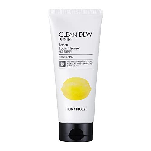 TonyMoly Clean Dew Foam Cleanser (Lemon)