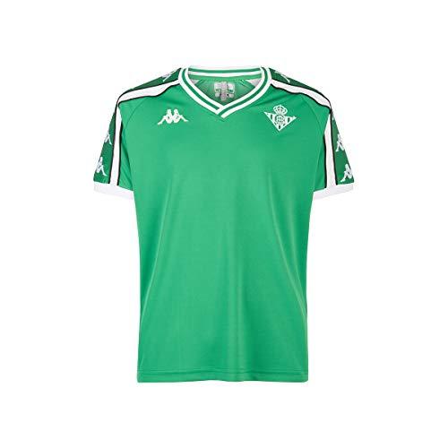 Kappa 222 Banda 10 Aniet Retro Betis Camiseta, Hombre, Verde