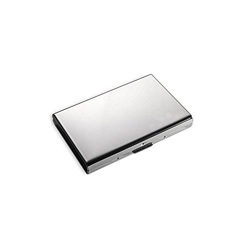 MOSANY   Kreditkartenetui mit Multitool-Card   aus hochwertigem Edelstahl   für bis zu 6 Karten   RFID & NFC Schutz   Damen & Herren