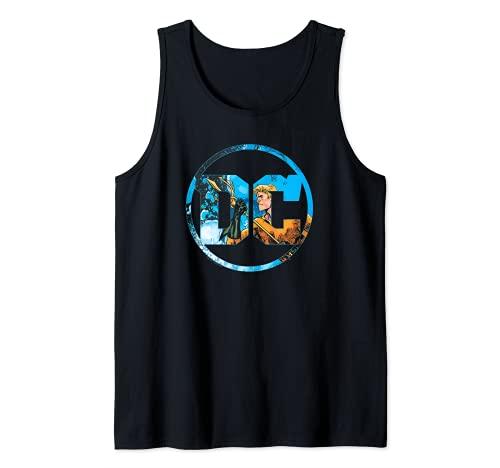 Aquaman DC Comics Logo Camiseta sin Mangas