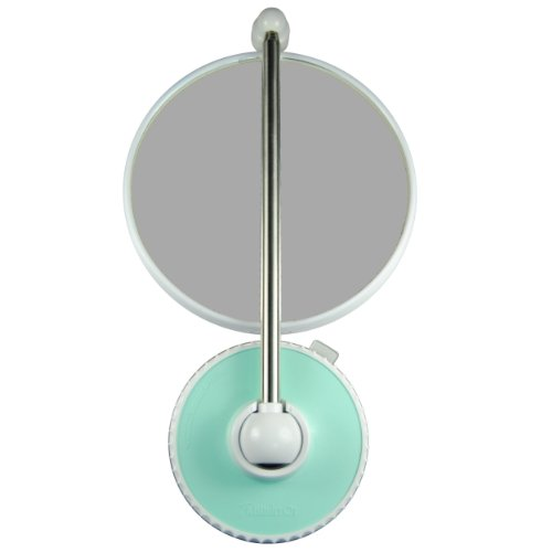 TWISTMIRROR Miroir Intelligent grossissant 10x Couleur: Vert Aquarelle