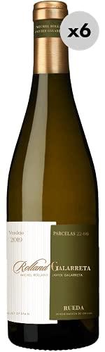 Rolland Galarreta Rueda'Parcelas 22-66', Vino Blanco, 6 Botellas, 75cl