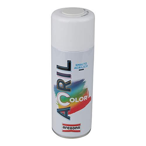 Smalto acrilico spray Arexons 9010 bianco [AREXONS]