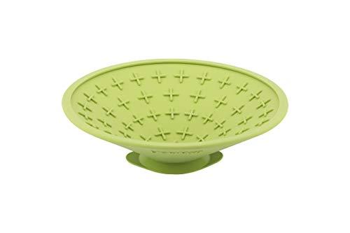 Procyon Hundebedarf Indus1 Licki Mat Splash Schleckmatte Leckerlischale, Einheitsgröße, neon grün