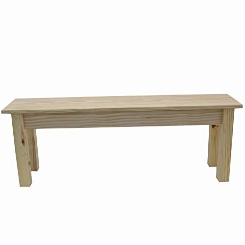 Unfinished Canvas Bench (72 inches)