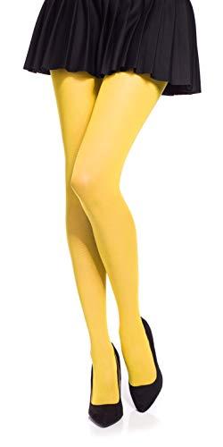Medias amarillas para mujer
