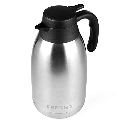 Cresimo 68 Oz Stainless Steel Thermal Coffee Carafe