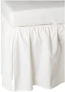 Ikea Len Crib Skirt, White, 28