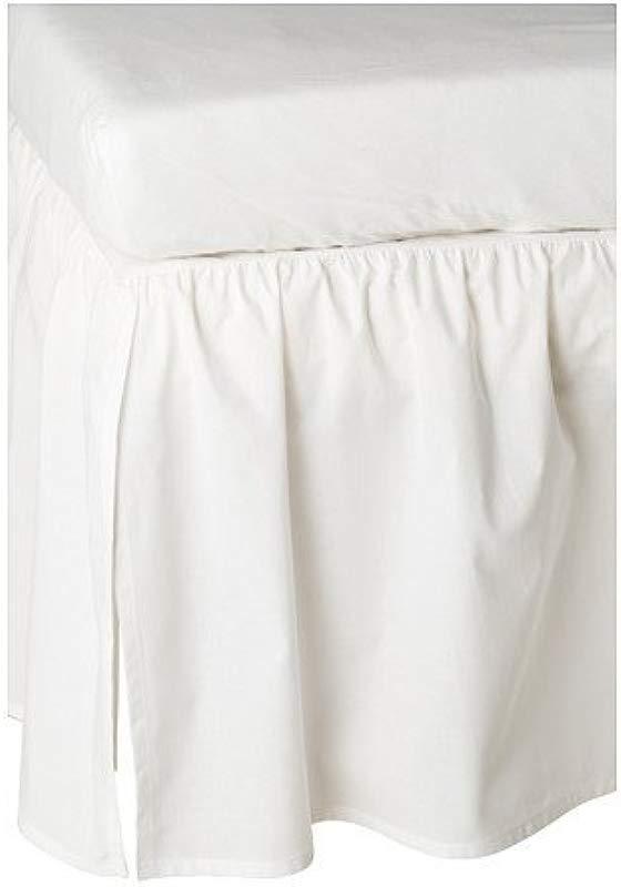 Ikea Len Crib Skirt White 28 X 52