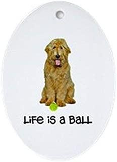 Yilooom Goldendoodle Life Flat Ornament -Christmas/Holiday/Love/Anniversary/Newlyweds/Keepsake - 3