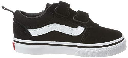 Vans Unisex Baby TD Ward V Sneaker, Schwarz ((Suede/Canvas) Black/White Iju), 21 EU