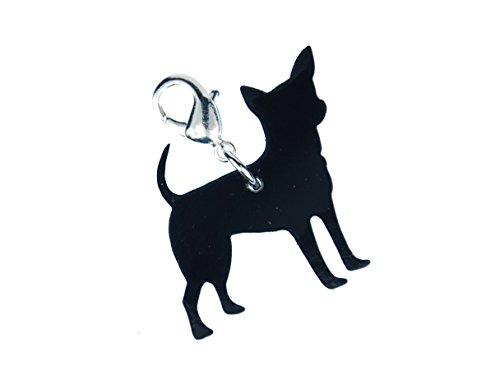 Miniblings Encantos Chihuahua Encanto del Perro Mejor Amigo - joyería Hecha a Mano de Plata de la...
