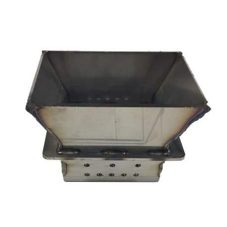 Assieme Feuerschale für Pelletöfen mit Blechstärke von 2,5 mm