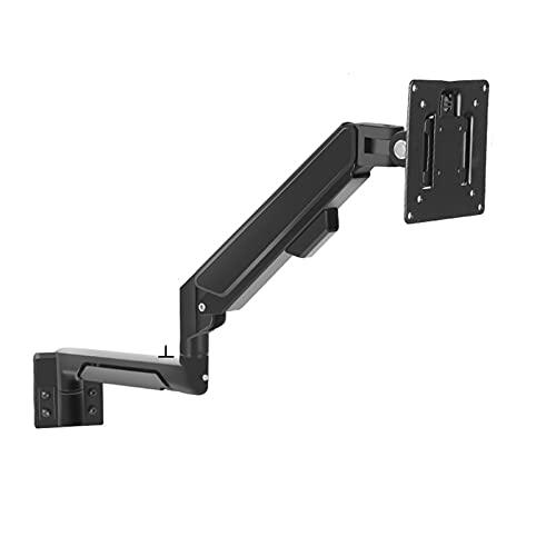 Montaje del Monitor 10 '-32' Monitor Monitor Soporte de pared Ajustable Monitor de resorte Soporte de montaje de montaje de 10 '-16' Soporte para portátil de pared ', sostenga hasta 19.8 libras, negro