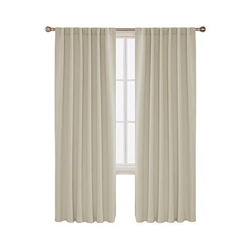 cortinas opacas termicas beige