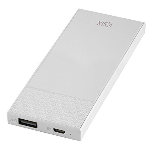 Ksix BXBA3000U02 - Batería Externa (3000 mAh, Cable Micro USB) Color Blanco