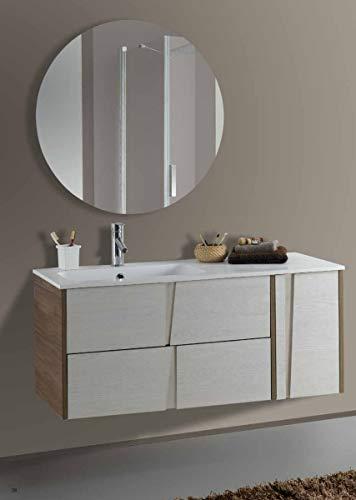 Set Mobile Lavabo Specchio LED Arredo Bagno Moderno Philadelphia105 CERAMICHEMIRANDA-Toronto