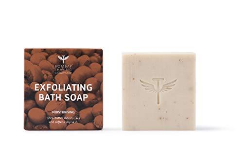 Bombay Shaving Company Shea Butter Moisturizing Bath Soap with Coconut Husk and Honey for soft skin, 100g