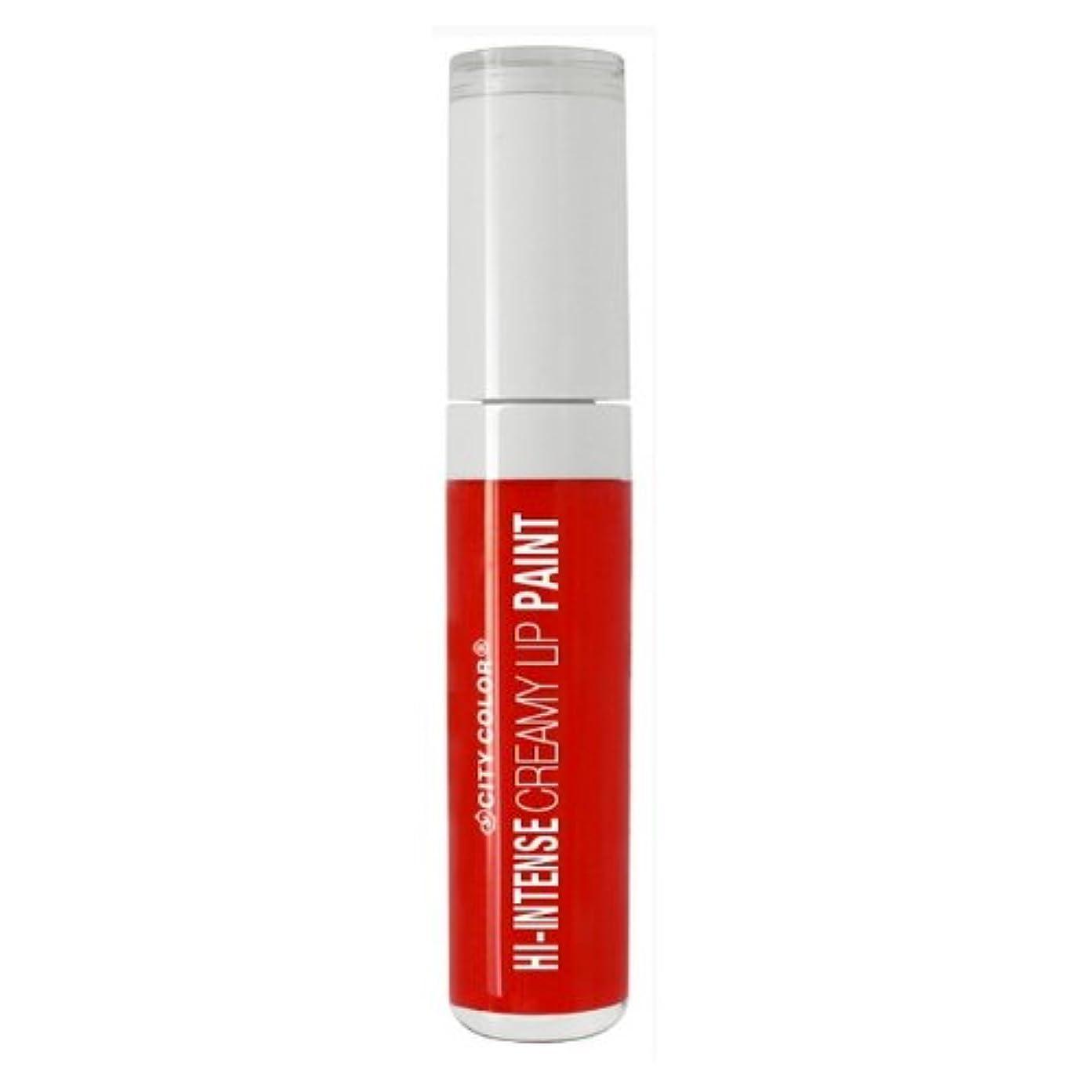 偽物線形閃光CITY COLOR Hi-Intense Creamy Lip Paint - Forever & Ever (並行輸入品)
