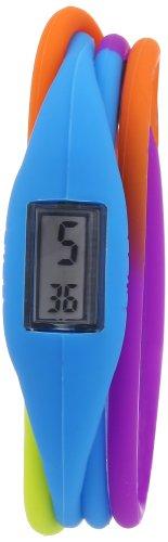 Breo Roam Twist B-TI-RTW4M - Reloj Digital para niña, Correa de Goma Multicolor